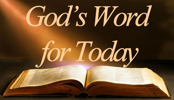 God's Word for today wording with bible